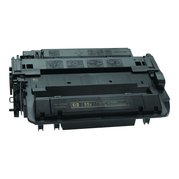 Platinum Brand HP Alternative Compatible  CE255X (HP 55X) High Capacity Black Toner Cartridge