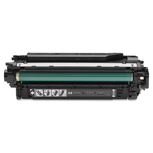 HP CE264X (HP 646X) Black Toner Cartridge