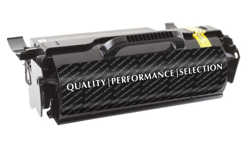 Compatible Premium Brand Black Toner Cartridge compatible with the Lexmark T654X21A 36K Yield