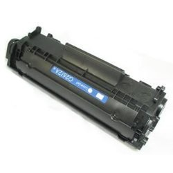 Platinum Brand HP Alternative Compatible  Q2612A (HP 12A) Black Toner Cartridge